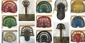 Dick Hoke Antique Cast Iron Seat Collection - Online Auction