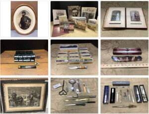Military and Wartime Relics, Art, Home Goods & MORE 21-0207.OL