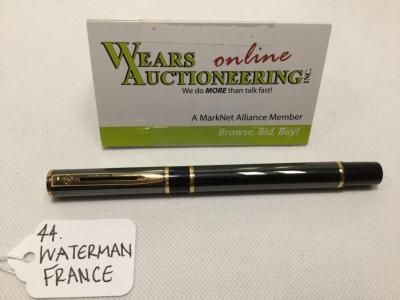 Silver, Black and Gold Waterman France