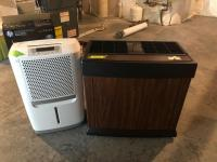 Kenmore quiet comfort humidifier and Frigidaire dehumidifier