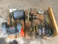 2 grinder electric motors