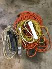 Trouble light and extension cords