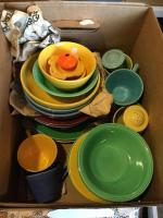 Harlequin dishes