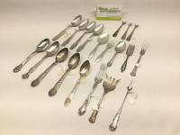17 Pieces of Sterling Silver Flatware - 11.1 oz.