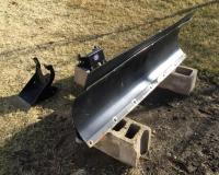 "60"" wide blade American Manufacturing Inc. universal, comes with bracket for 2011 Artic Cat ATV"