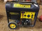 Champion 4000 starting watts,3500 rated watts generator model 46539, gas