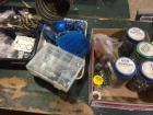 Various nail, screws, tolet flappers, door stops and more