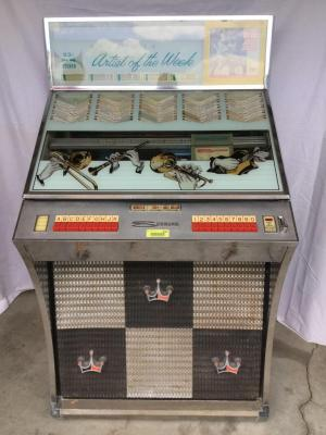 Seeburg Select-o-Matic Jukebox See description for add'l details, photos