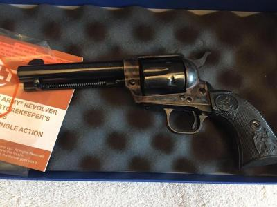 Colt Single Action Army, Model P1840, .45 cal, Serial #S55774A (new in box)