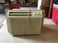 GE window air conditioner.