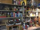 Automotive items, misc workbench items, oil, filters