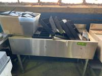 Stainless steel sink, cash drawers, receipt printers. See all photos