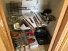 Grillers paradise-skewers, grill baskets, fish spatula, Bobby Flay wood chips, grill utensils