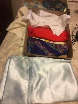 Silk scarves and miscellaneous