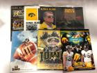 7-IOWA FOOTBALL PROGRAMS/GUIDES/BOOKS INCLUDES HAYDEN FRY-BOWL GAMES