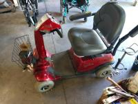 A Rascal four wheeled electric mobility chair unknown working condition