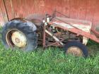 Ford Ferguson tractor non-running with loader parts tractor