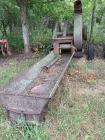 Gehl silage blower with unloading elevator or drag most likely for scrap