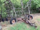 24 foot front fold field cultivator brand unknown two bar Harrow