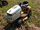 Cub cadet 2166 riding mower supposedly runs needs battery