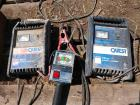 Two carquest 10 amp battery chargers both working and a 6 and 12 volt battery tester load tester