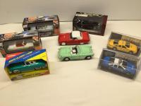 Various die cast collector cars-mostly 1:43