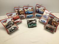 7 Disney Pixar Cars die cast cars-Matchbox size and 1 Cars McDonalds Happy Meal toy  All still in original packaging