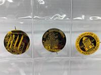 3 IA Homecoming badges-1945, 1946, 1947