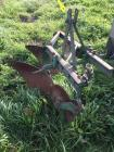 3 point hitch 2 bottom plow, green