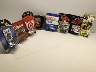 8 die cast 1:64 size stock cars All still in original packaging