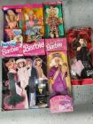Solo in the Spotlight Barbie 1960 Reproduction, Graduation Barbie, Bath Magic Barbie, All American Barbie and 1989 Barbie doll case