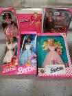 Sweet Magnolia Barbie, 2 My First Barbies, Working Woman Barbie, Wedding Day Barbie and a 1982 Barbie doll case