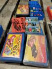Hot Wheels, Matchbox, Ertl and other various mini cars in collectors cases Includes NIB vintage Sambron Jacklift and Hot Wheels redline
