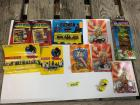 10 Ertl die cast replicas-DC Comics Superheroes, Batman, Dick Tracy, Warner Brothers and Racing Champions Popeye