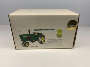 Scale Models John Deere 3010 Tractor OScale Models John Deere 3010 Tractor One of 3000 available at the Summer Toy Show June 2000, Special Edition for