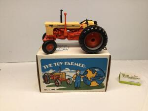 The Toy Farmer 11/2/90 Case 800 Case-O-Matic tractor, 1/16 scale