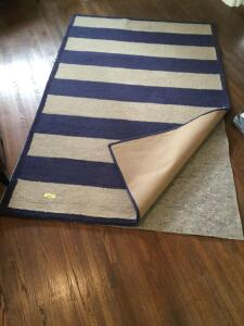 60 x 96 area rug and floor protector
