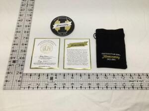 University of Iowa 100th anniversary 1912-2012 Homecoming badge Limited Edition number 488 of 500