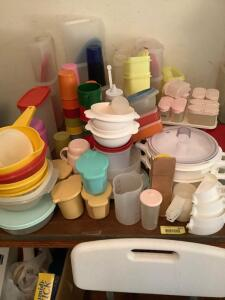 Tupperware on the Left