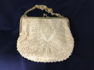 Beaded Purse Made in Hong Kong