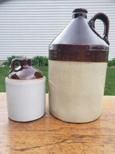 This little quart size jug was called a flask back in the day.