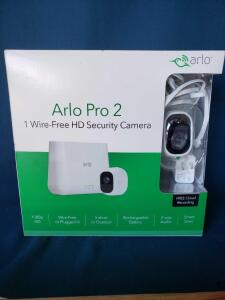Arlo Pro 2 security system, new in box.