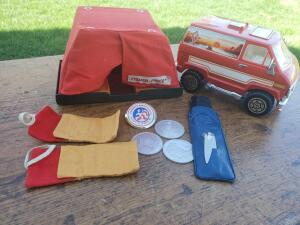 Sweet van Dude! 1977. More fisher price and boy scout stuff
