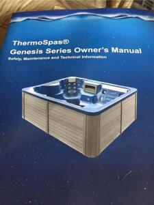 Thermo-Spas Atlantis Genesis Series Hot tub, new in package with cover, 76x76, 220 hookup, 225 gal