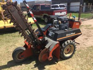 Ditch Witch 1820, hours 269, Honda 18.0 V-Twin, running condition