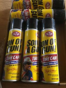 STP tire care spray, most new