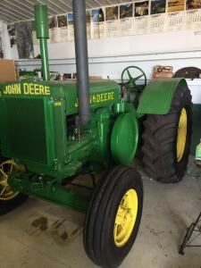 "1931 John Deere Model ""D"",Ser#110807, new tires, good sheet metal, grill screens, running condition"