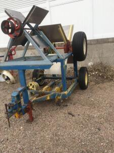 Baker fan (one large one small)belt driven device to run tractors