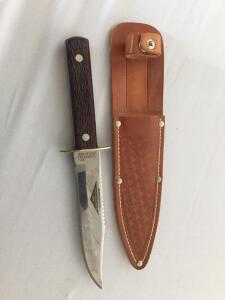 Imperial Sportsmaster knife with sheath