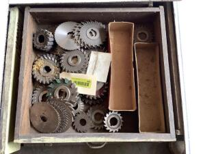 Box of mill cutters